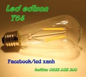 Bóng đèn edison T64