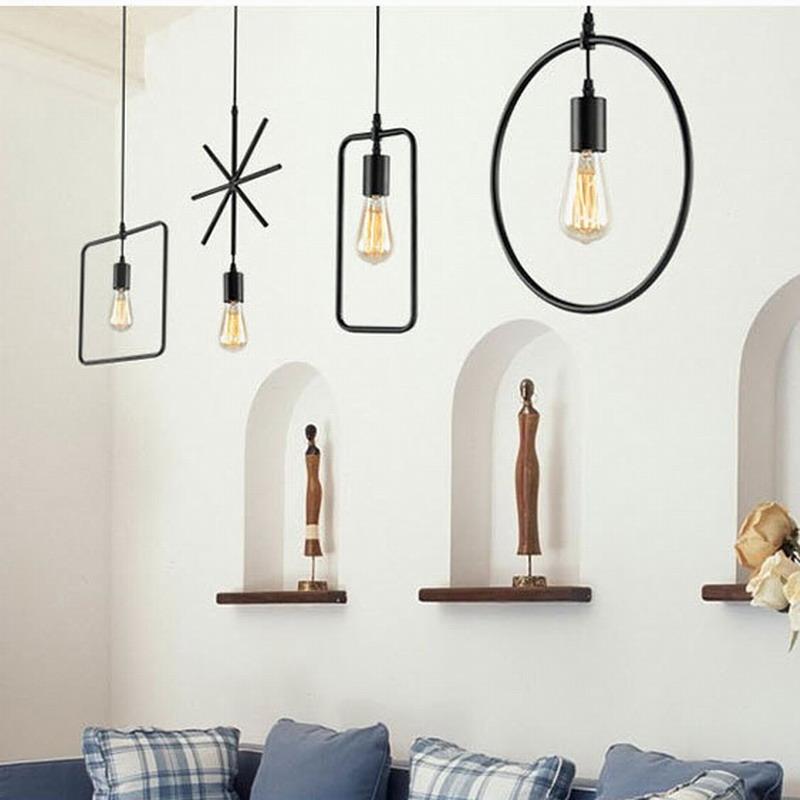 Modern-loft-brief-Hanging-2-style-Metal-wood-Pendant-Lamps-geometric-lighting-E27-for-living-room
